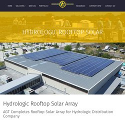 Hydrologic Rooftop Solar - Commercial Solar Contractor