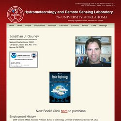 Hydrometeorology and Remote Sensing Laboratory » JJ Gourley