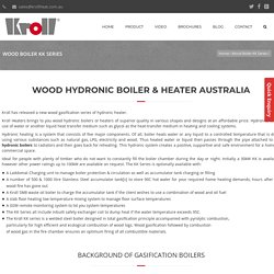 Hydronic Wood Boilers in Australia – Kroll Heat