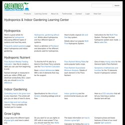 learning center - Greentrees Hydroponics