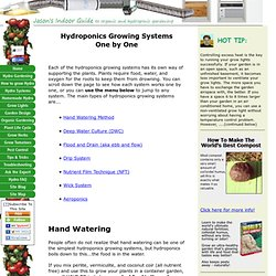 Hydroponics Growing Systems Explained One by One