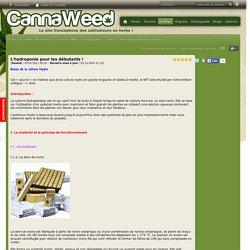 L'hydroponie pour les débutants ! - Hydroponie - Guides - Guides de culture du cannabis