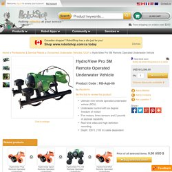 HydroView Pro 5M Remote Operated Underwater Vehicle