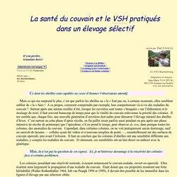 Hygiène du couvain et VSH Varroa Specifique Hygiene