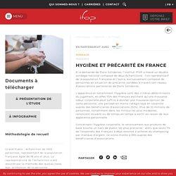 Hygiène et précarité en France