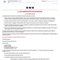 FAO Détergents