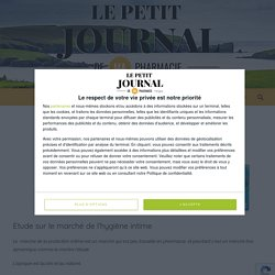 Etude sur le marché de l'hygiène intime - Le Petit Journal de ma pharmacie