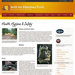 Health, Hygiene & Safety - Bibbulmun Track Foundation