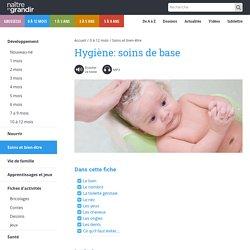 Hygiène de base bébé