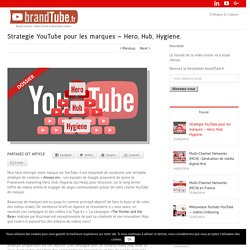 Hero, Hub, Hygiene - Stratégie YouTube pour les marques