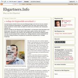 Ehgartners.Info: 1. Auflage der Hygienefalle ausverkauft :)