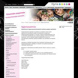 Hygieniaosaaminen - Hyria koulutus