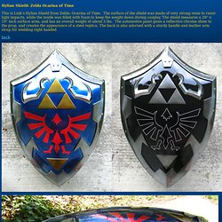 Hylian Shield: Zelda Ocarina of Time