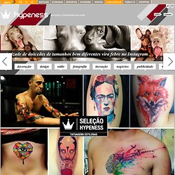 Seleção Hypeness: 25 tatuadores que sua pele precisa conhecer