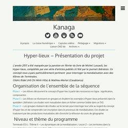 Hyper-lieux – Présentation du projet