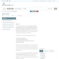 L'hyperactivité : symptômes, diagnostic, traitement