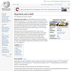 Hyperbole and a Half - Wikipedia