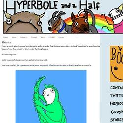 Hyperbole and a Half: Menace