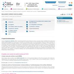 INVS 08/03/16 Maladies cardio-vasculaires