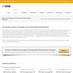Converged Infrastructure Solutions