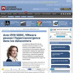Avec EVO SDDC, VMware pousse l'hyperconvergence dans les datacenters