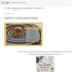 HyperDocs - Changing Digital Pedagogy - 2014 Mountian View - GTA MTV