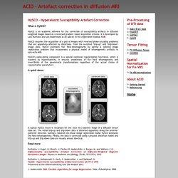 [ACID/HySCO] - Hyperelastic Susceptibility Artefact Correction