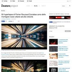 Gli hyperlapse di Florian Rouzaud Cornabas sono delle montagne russe urbane ad alta velocità
