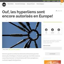 Ouf, les hyperliens sont encore autorisés en Europe!