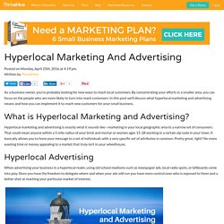 Hyperlocal Marketing And Advertising