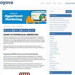 Guide to Hyperlocal Marketing - Oyova Software