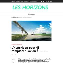 L'hyperloop peut-il remplacer l'avion ?