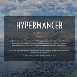 Leximancer: From Words to Meaning to Insight | Hypermancer