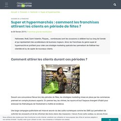Super et hypermarchés - Observatoire de la franchise