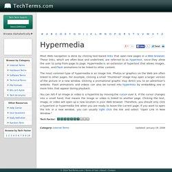 Hypermedia Definition