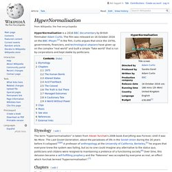 HyperNormalisation - Wikipedia