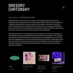 Hyperproduction – Gregory Chatonsky