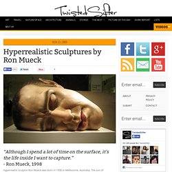 Hyperrealistic Sculptures by Ron Mueck