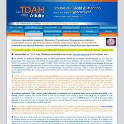 TDAH Adulte TDA HP TDAHP - Hypersensible - Haut-Potentiel - Déficit d'Attention - Probleme concentration Procrastination Cyclothymie Impulsivité Ritaline Coaching