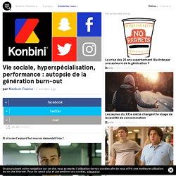 Vie sociale, hyperspécialisation, performance : autopsie de la génération burn-out