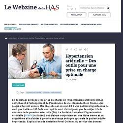 Hypertension artérielle – Des outils pour une prise en charge optimale
