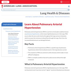 Learn About Pulmonary Arterial Hypertension