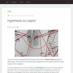 Hypertexte sur papier