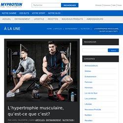 L'hypertrophie musculaire, qu'est-ce que c'est? - The Zone