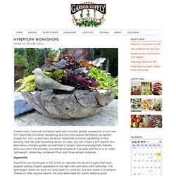 Hypertufa - Garden Supply Company