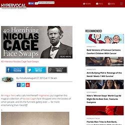 40 Hilarious Nicolas Cage Face Swaps