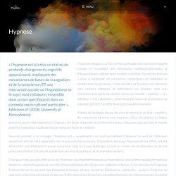 Hypnose - Alain PARRA