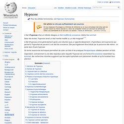 Hypnose/ Wikipedia