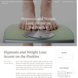 Weight Loss Hypnosis Is Best Practice To Lose Weight