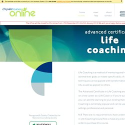 Chrysalis Online Courses - Hypnotherapy, Counselling, NLP, Life Coaching & More